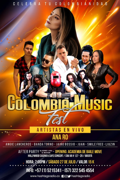 Colombia Music Fest 2019