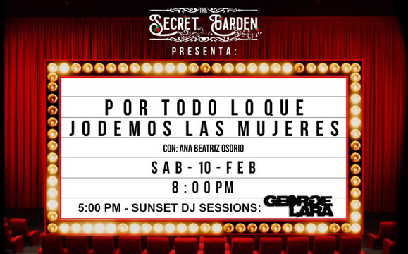 Live @ The Secret Garden, Chía, COLOMBIA