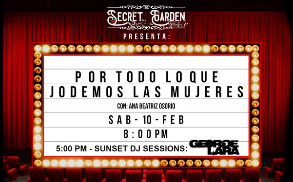 Live @ The Secret Garden, Chía, COLOMBIA