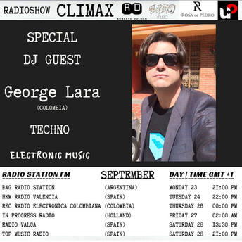 George Lara w/ Climax Radioshow