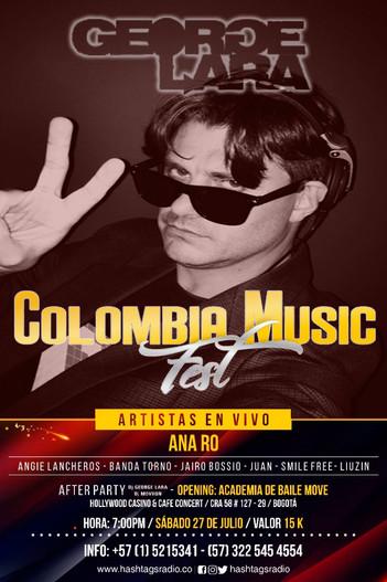 DJ GEORGE LARA: Live at Colombia Music Fest 2020