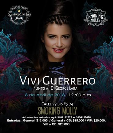 Live @ Smoking Molly feat. Vivi Guerrero, Bogotá, COLOMBIA
