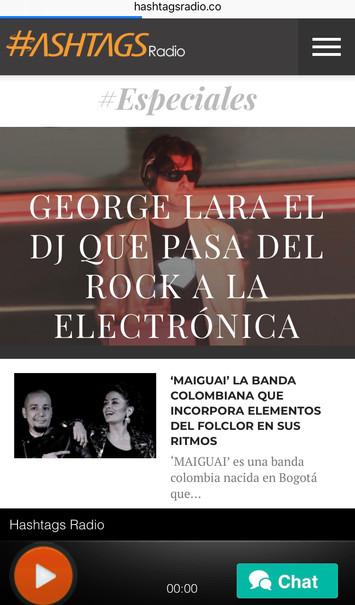 DJ George Lara @ Hashtags Radio