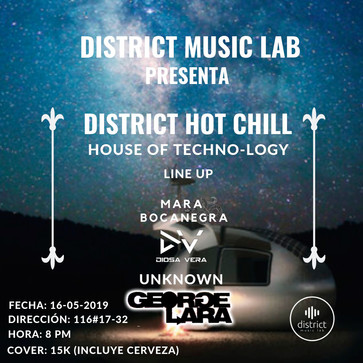 Live @ District Music Lab, Bogotá, COLOMBIA