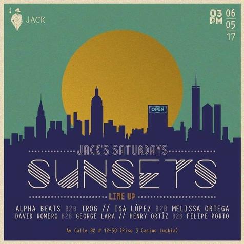 Live @ Jack Club, Bogotá, COLOMBIA