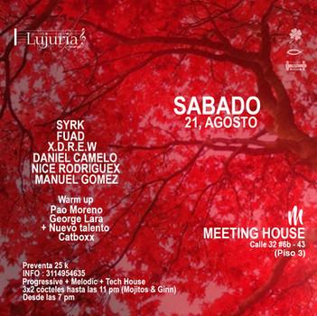 DJ GEORGE LARA: Live at Meeting House Bogotá!!! August 21, 2021