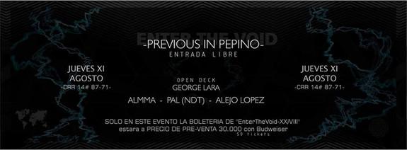 Live @ Pepino Bar, Bogotá, COLOMBIA
