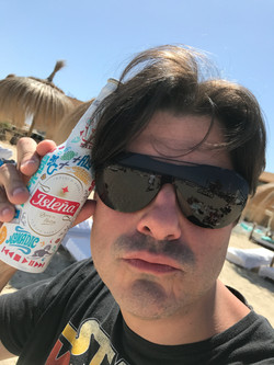 I took a beer in Ibiza!!!