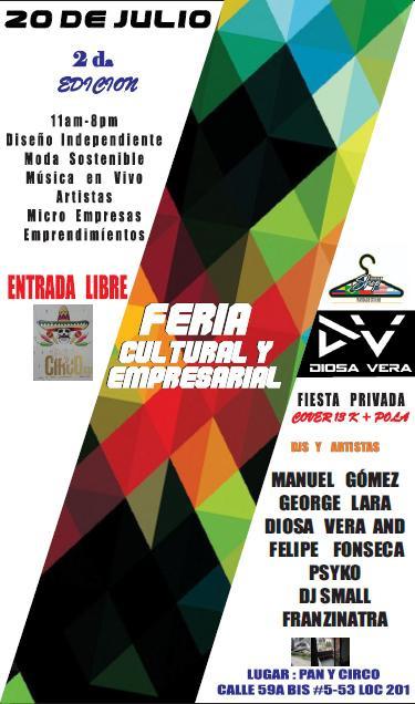 Live @ Pan y Circo, Bogotá, COLOMBIA