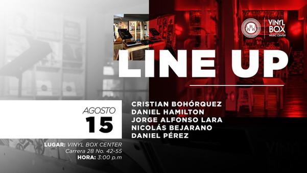 Live @ Vinyl Box Music Center, Bogotá, COLOMBIA