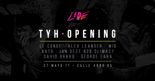 Live @ Lede, Bogotá, COLOMBIA