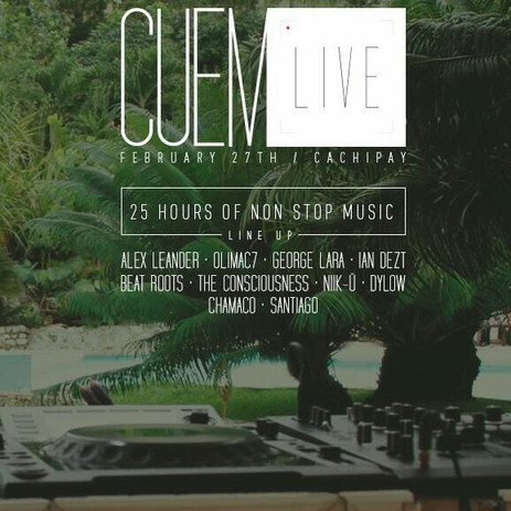 CUEM Live Party Cachipay, COLOMBIA
