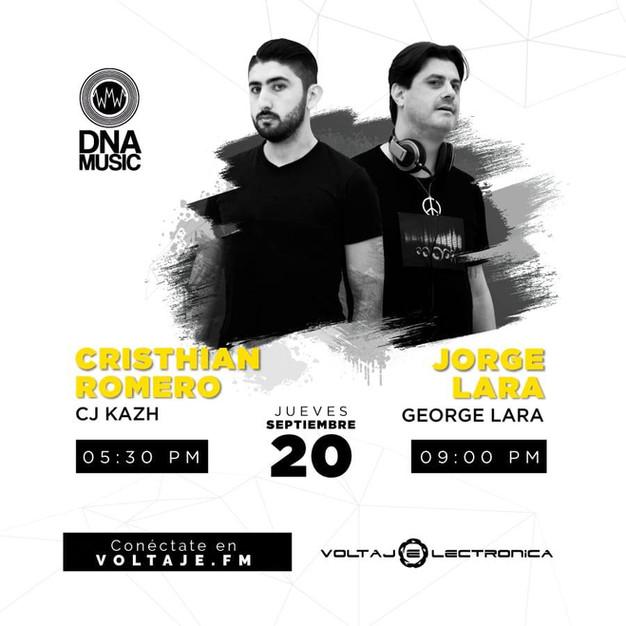 DJ George Lara @ Voltaje Electrónica