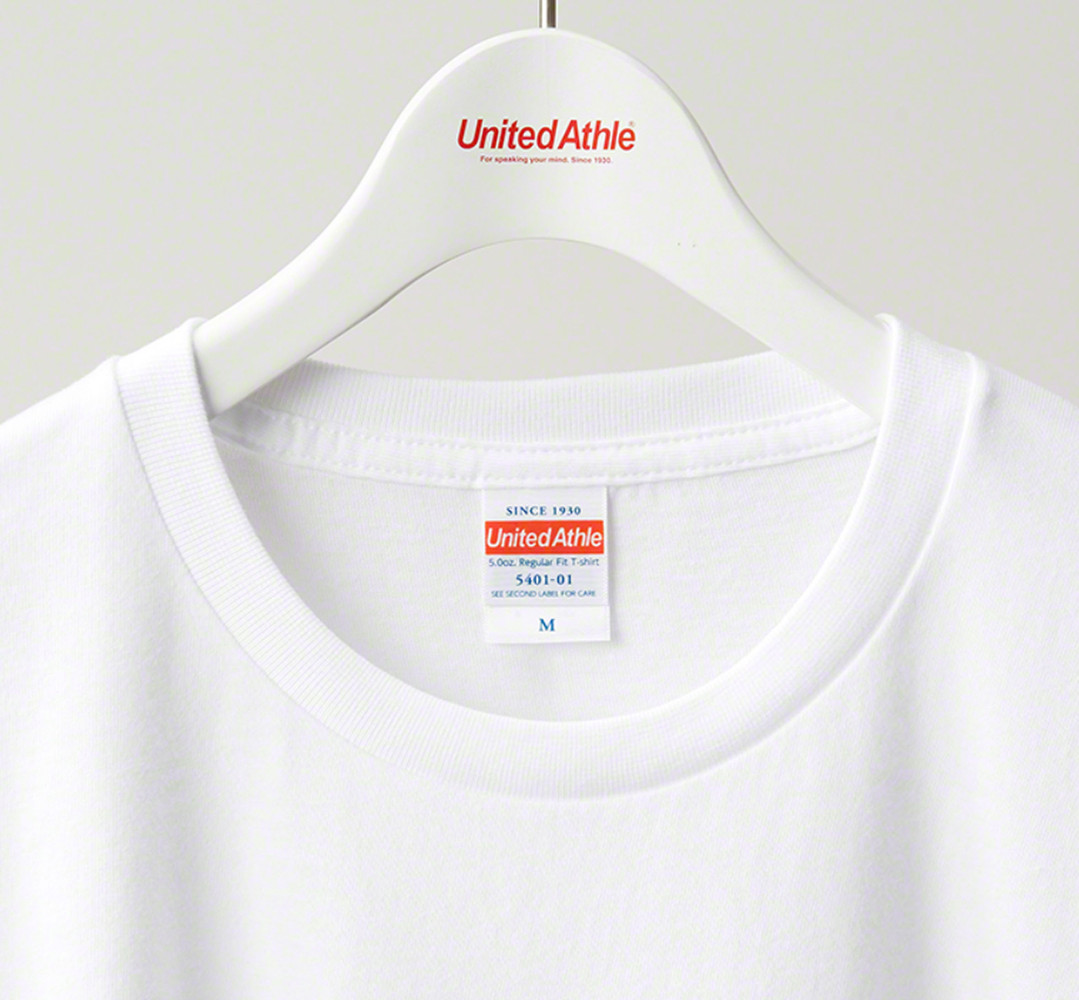 5401-01 5.0oz.レギュラーフィットTシャツ
