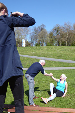 Projekt-Shooting am Osterdeich