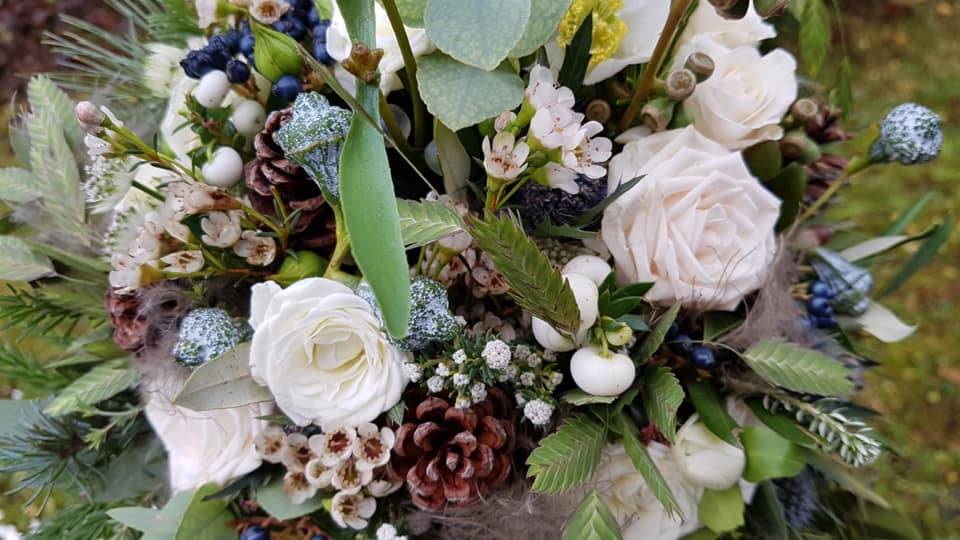 Hochzeitsstrauß weiß