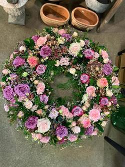 Blumen Habe die Ehre Ruhpolding Kranz