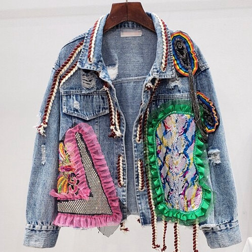 Patch It Denim Jacket | ETA In Description