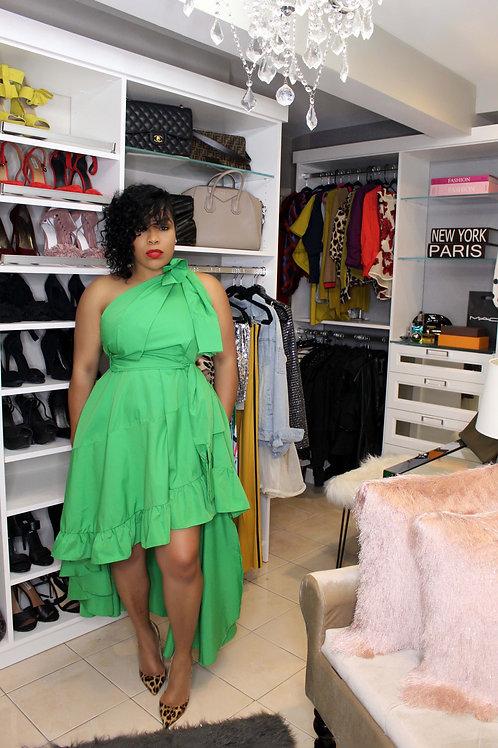 Let's Go Green | Dress