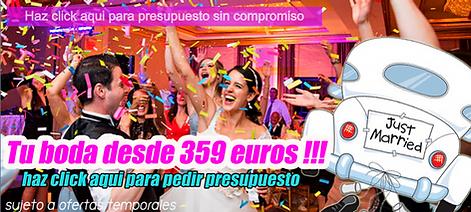 Oferta dj para bodas 359€ economico