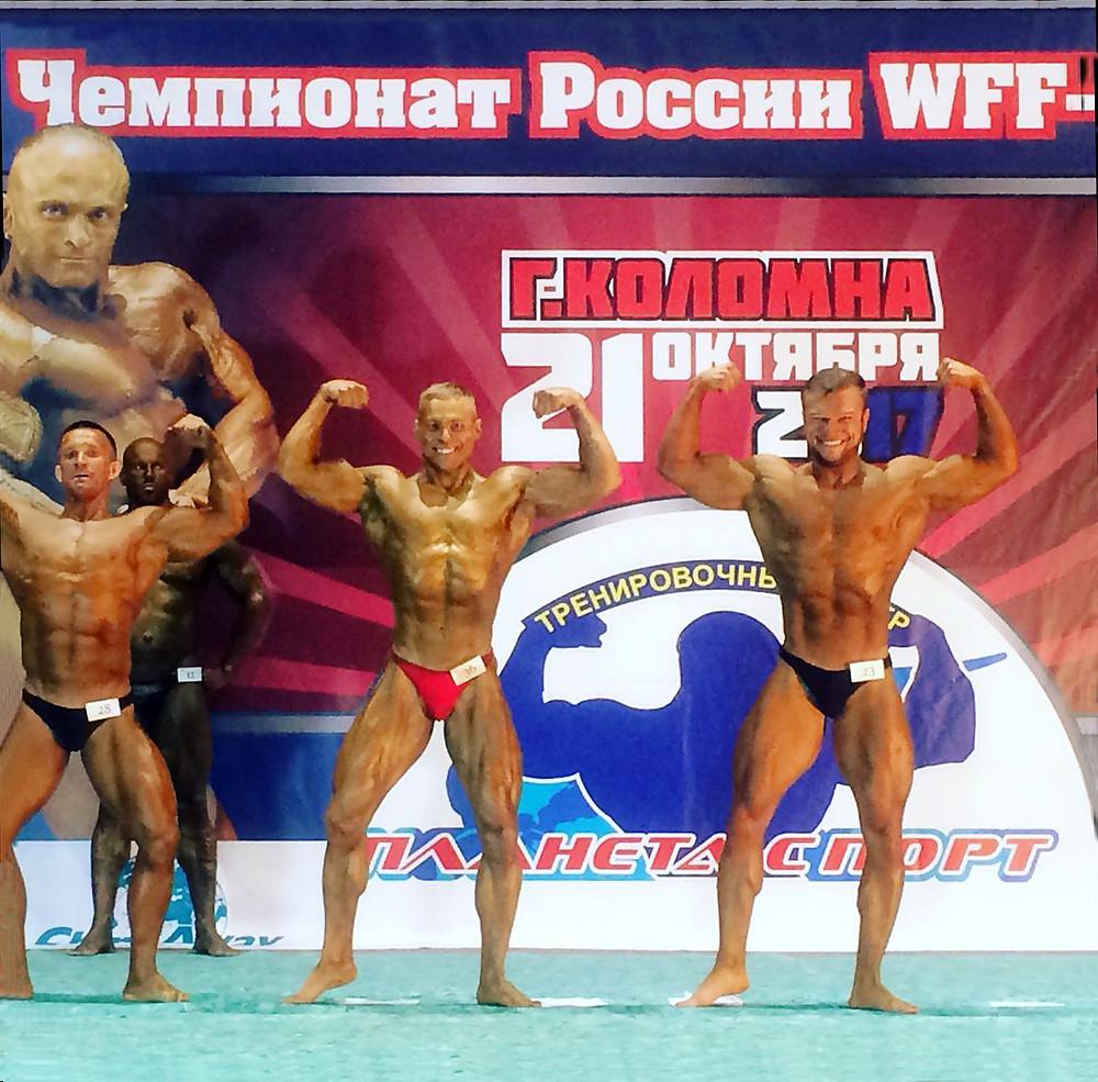 Чемпион России по бодибилдингу Александр Пульбере