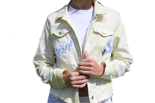 Bee Kind Denim Jacket