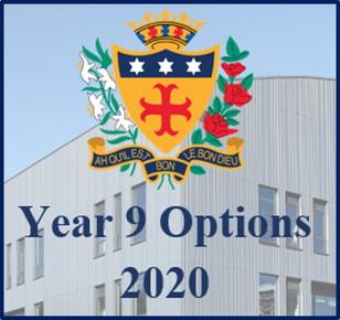 Year 9 Options