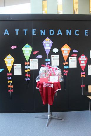 Attendance Challenge Winners