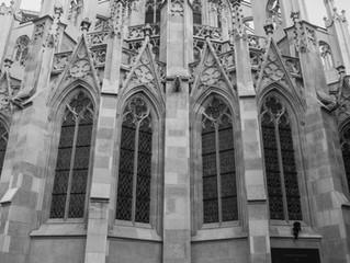 Celebrating the sky at Votivkirche in Vienna
