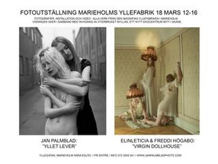 """Välkommen till utställningen """"Yllet lever"""" i Marieholm"""