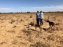 Eastport Ventures explores for uranium under desert sand in the Foley area of Botswana.
