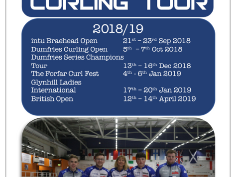 Goldline Scottish Curling Tour 2018/19