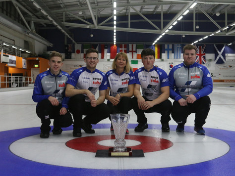Team Bryce take the Trophy