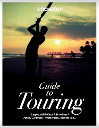 Cover of The Cricketer Guide to Touring, June 2018
