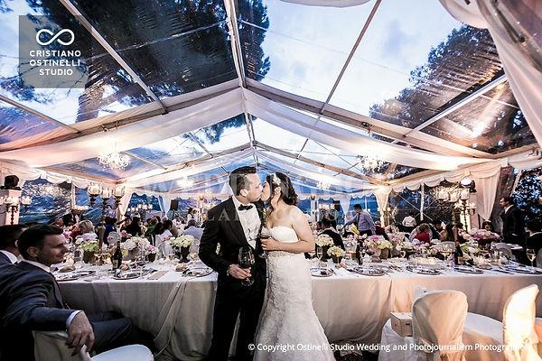 18. Lake Como wedding crystal marquee. V