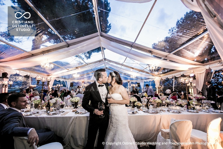 18. Lake Como wedding crystal marquee. V
