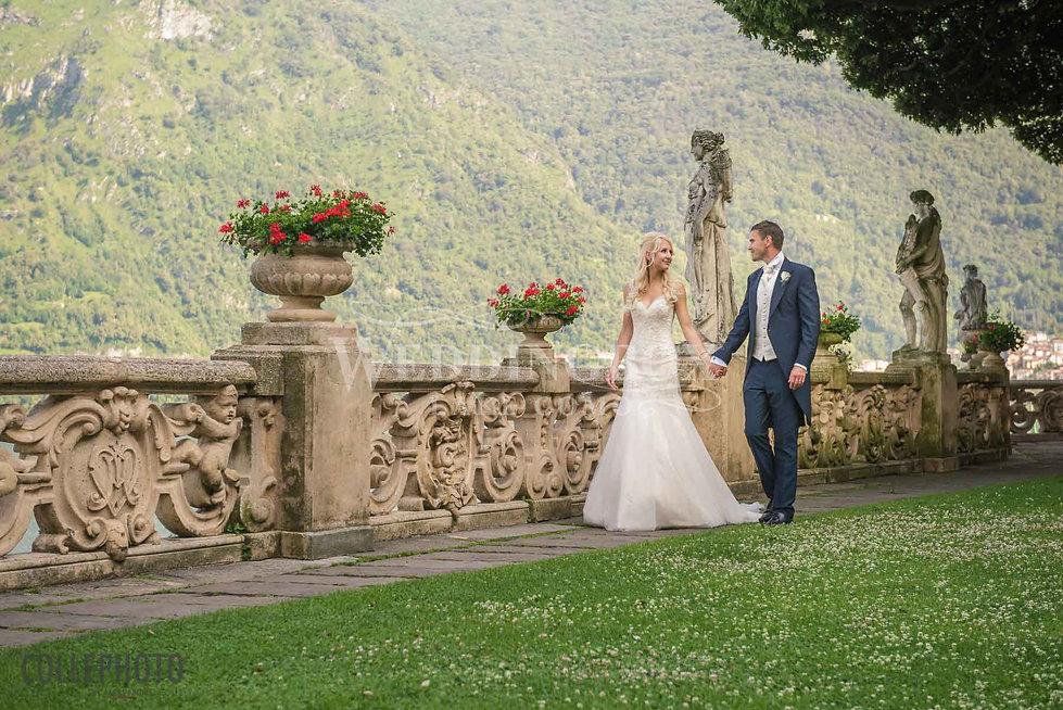 18. Wedding photoshoot in the gardens of