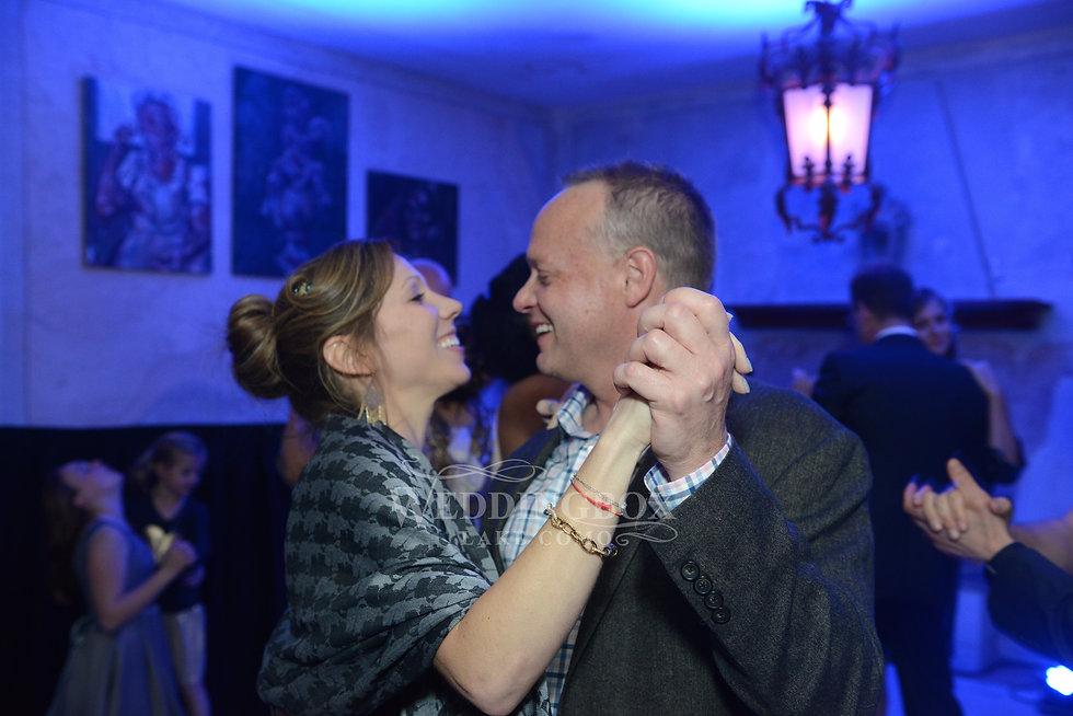 Lake Como wedding, evening disco with DJ