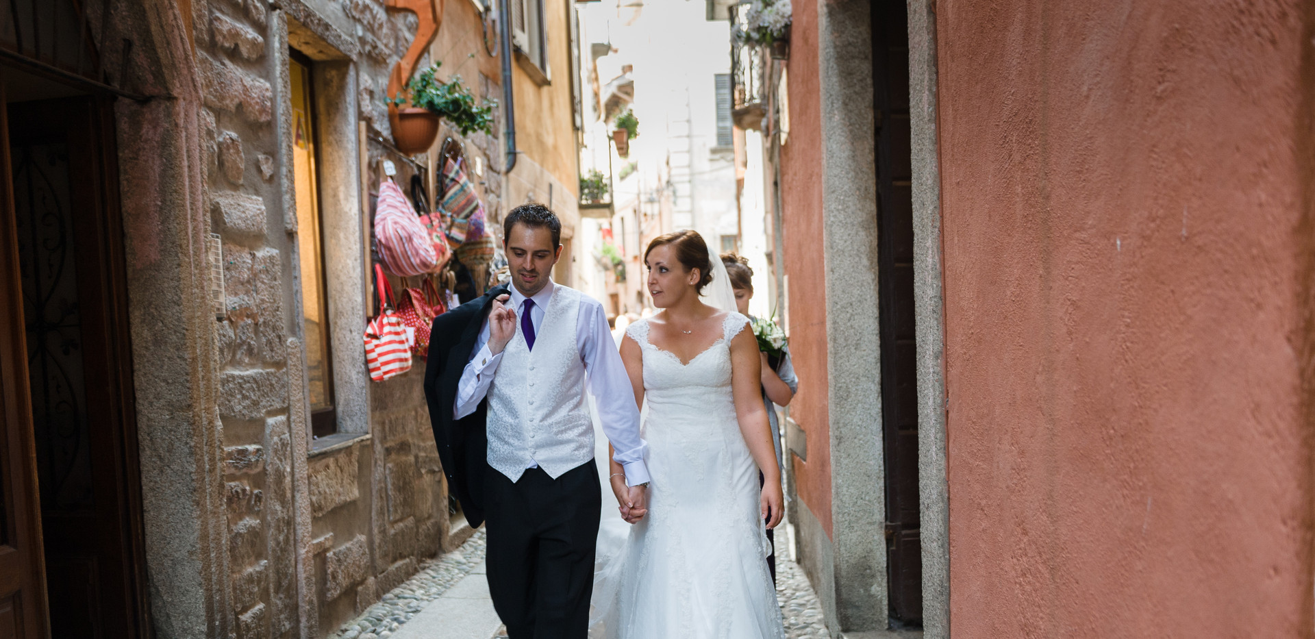 9. Wedding photo shoot on San Giulio Isl