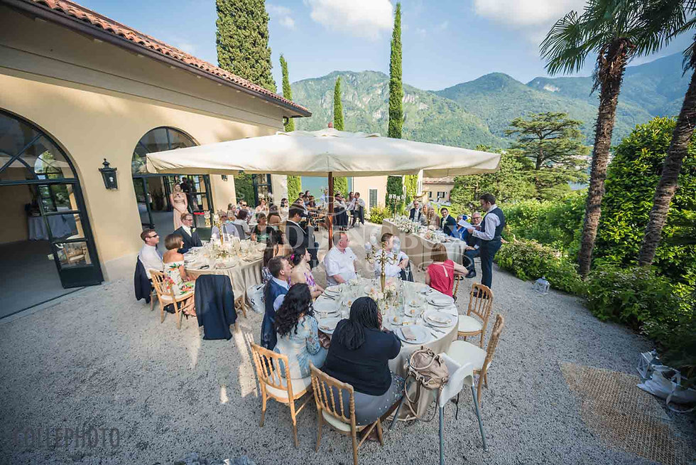 27. Wedding Breakfast at Villa Balbianel