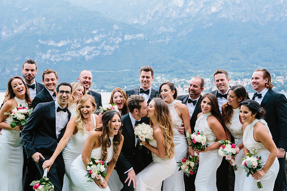 Sally Sephora wedding, Lake Como, Italy.