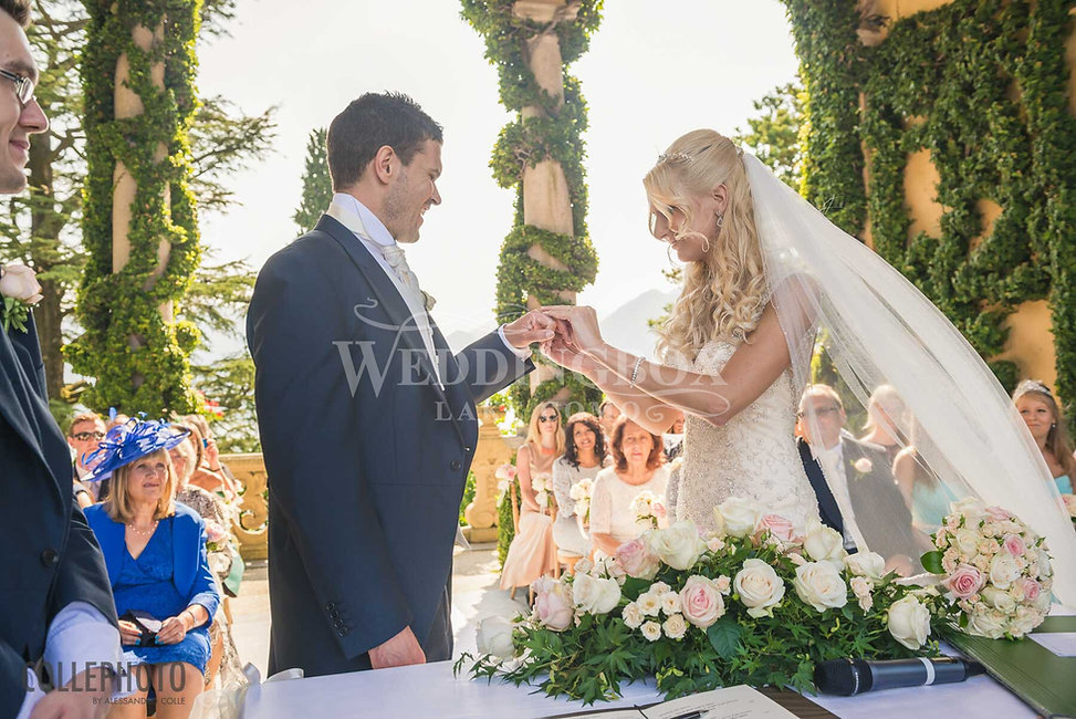 16. Villa Balbianello wedding. Exchangin