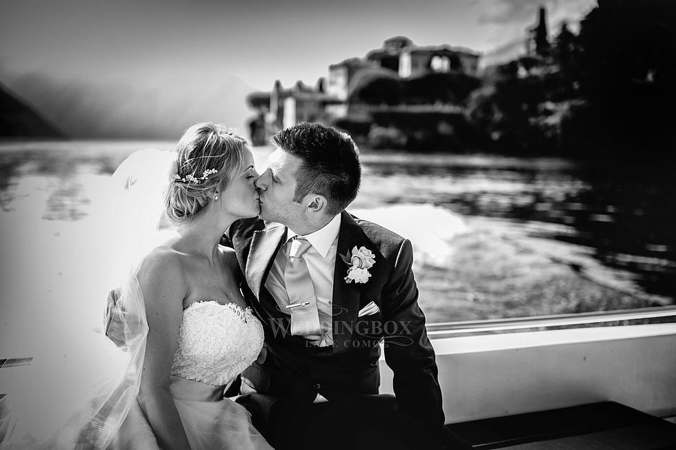 25. Wedding boat speedboat Lake Como, It