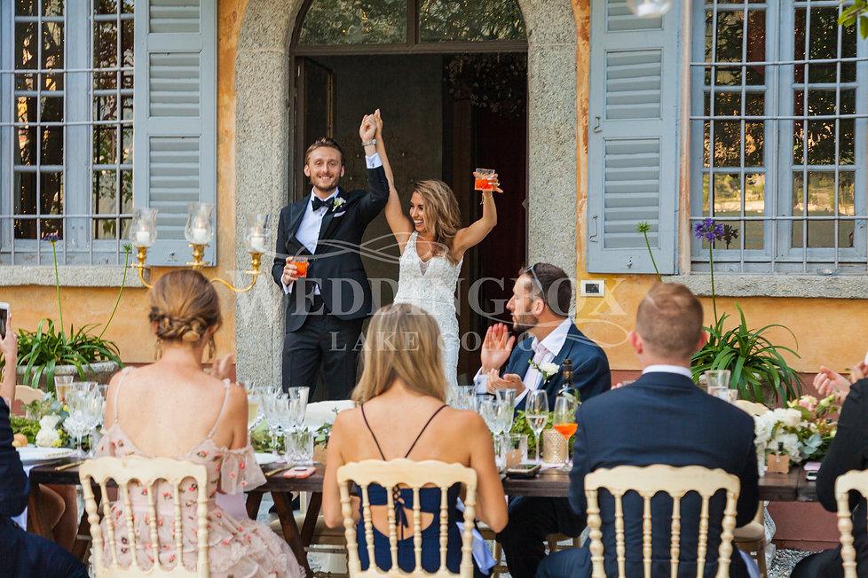 11. Wedding aperitivo at Villa Teodolind