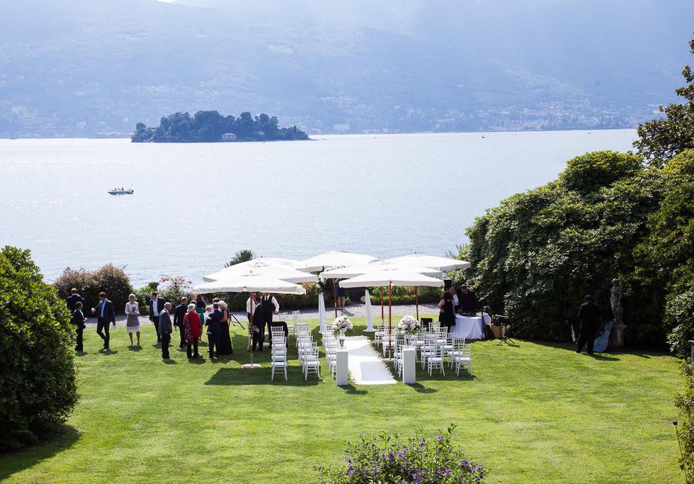 Villa Rusconi Clerici wedding on Lake