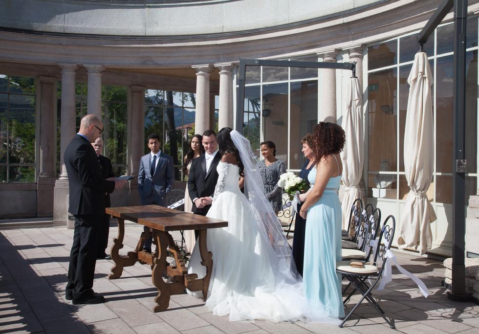 Lake Maggiore civil ceremony