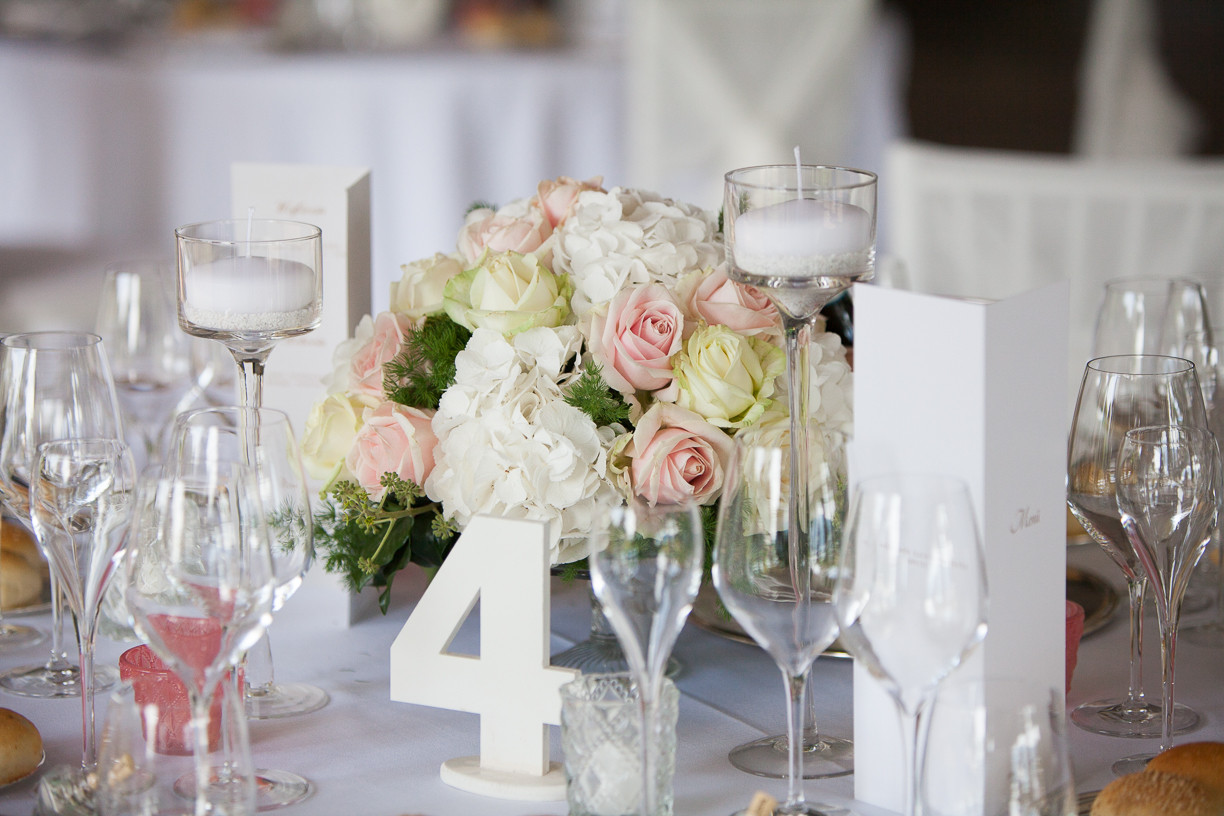 Candle holders and glass vase