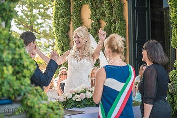 17. Civil wedding in Italy at Villa del