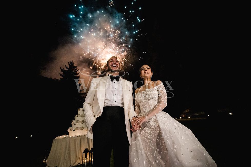 32. Fireworks at Villa Erba in Italy. Lu