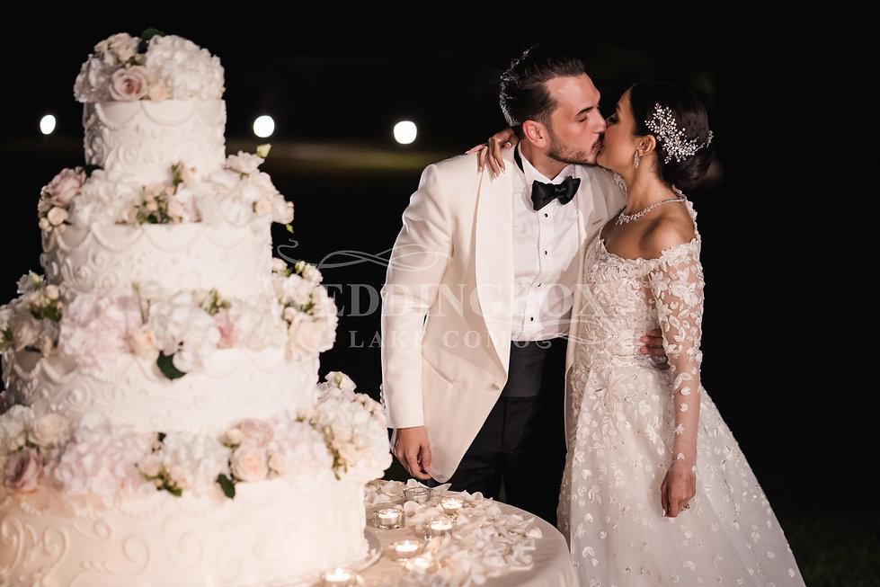 31. Wedding cake, Lake Como weddings and